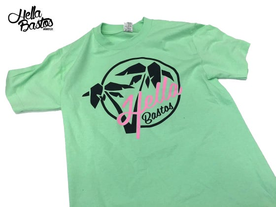 Image of HB Tropical Getaway T-Shirt (Mint Green)