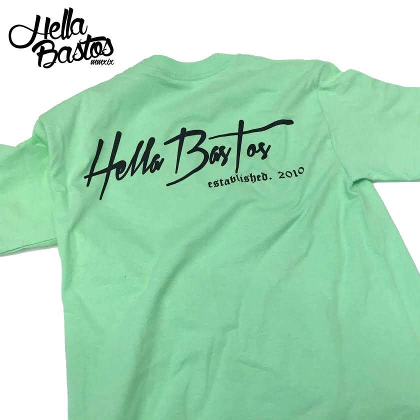 Image of HB Tropical Getaway T-Shirt (Mint Green)