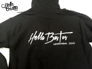Image of HB Tropical Getaway Hoodie (Black)