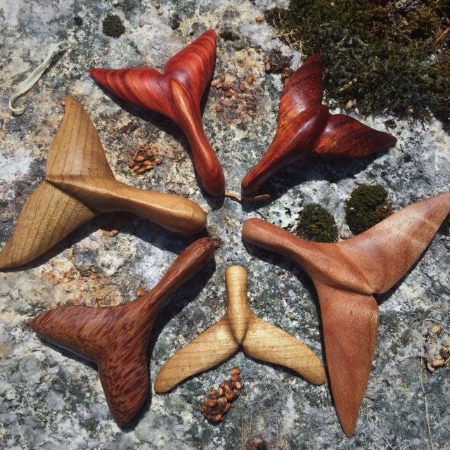 Image of Red palm Whale Fluke  Ondine Fin   Sea Talisman