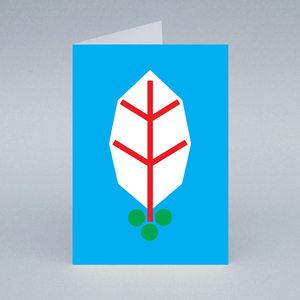 Image of Holly card