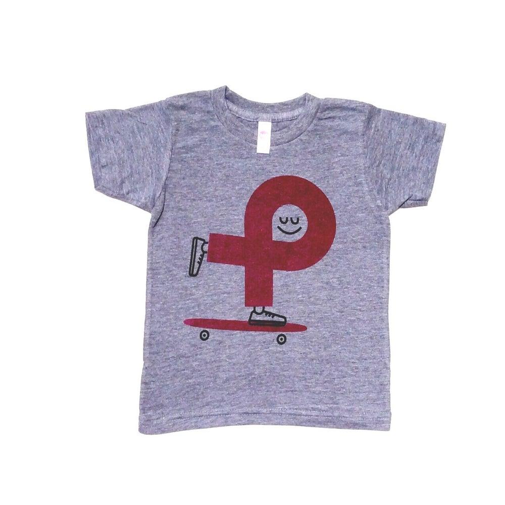 Image of Happy Skate (Grey tee)