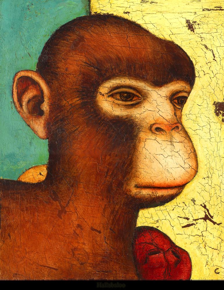 Image of Canvas Giclee- Hallabaloo