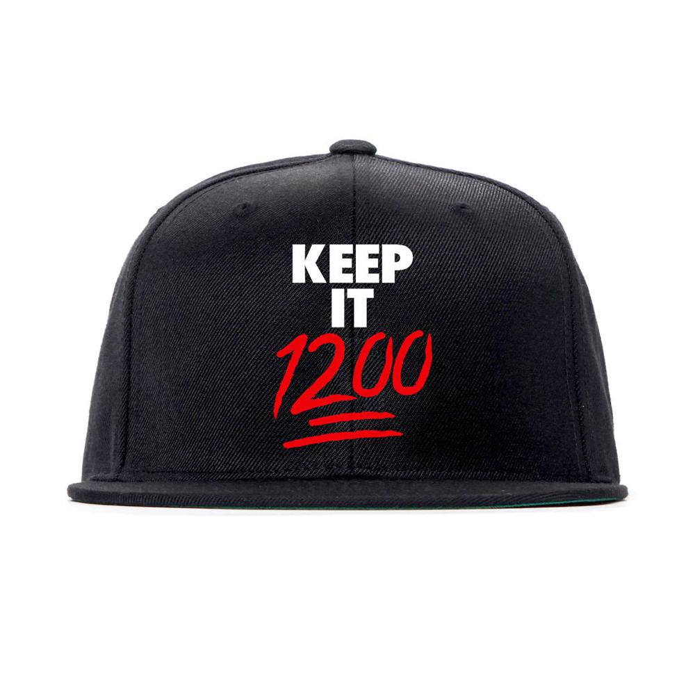 Image of Keep It 1200 Snapback (Black/Red)