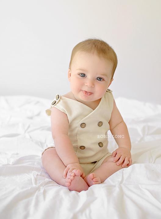 Image of Edward 6-12 month Romper