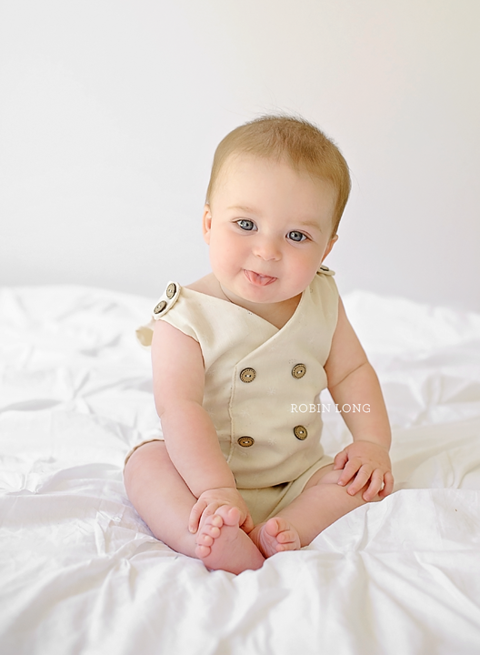 Image of Edward 6-12 month Romper