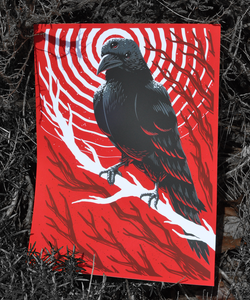 Image of Three-eyed Raven GoT Poster