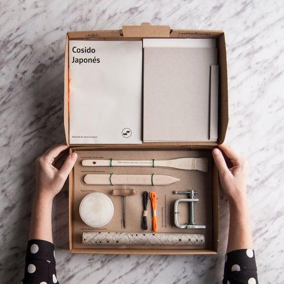 Image of DIY-Kit Encuadernación / Cosido Japonés