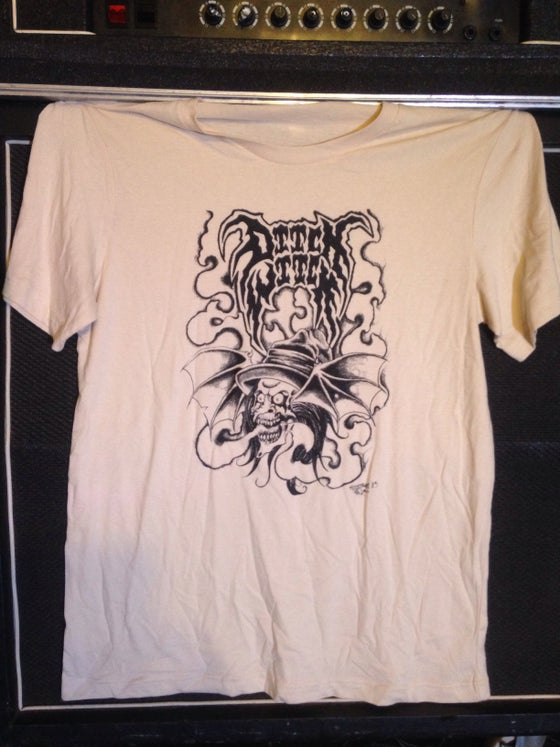 "Image of ""Ditch Witch"" on Cream White T Shirt"