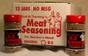 Image of H-3 Meat Seasoning 12 jar case