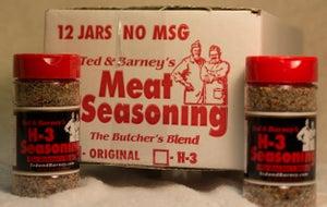 Image of H-3 Meat Seasoning 12 jar case