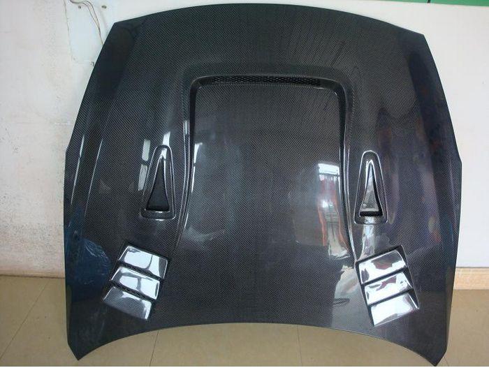 Image of Full Carbon fibre bonnet/hood street style
