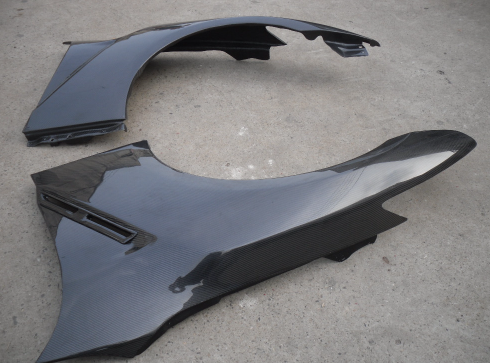 Image of Full Carbon fibre fenders