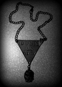 Image of Down as Dirt Pendant