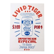 Image of <b>LIVID TIGER</b> <br> - <b>El Famoso</b>