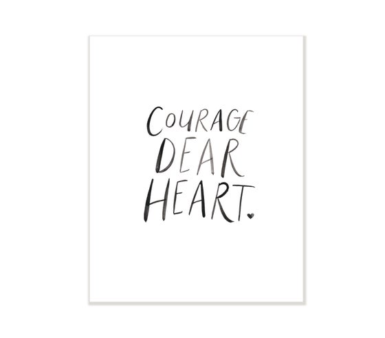 Image of courage dear heart