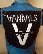 "Image of  Vandals Official ""V-Gun"" Back Patch"