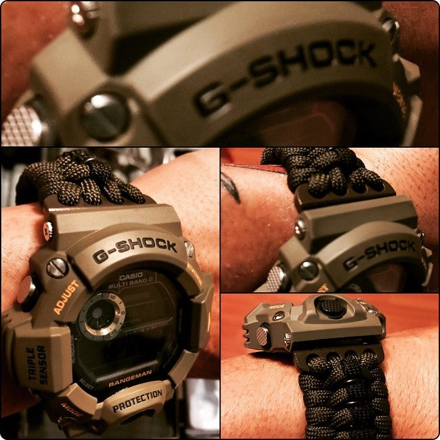 Image of Atomic Solar Rangeman  Paracord - OD Green
