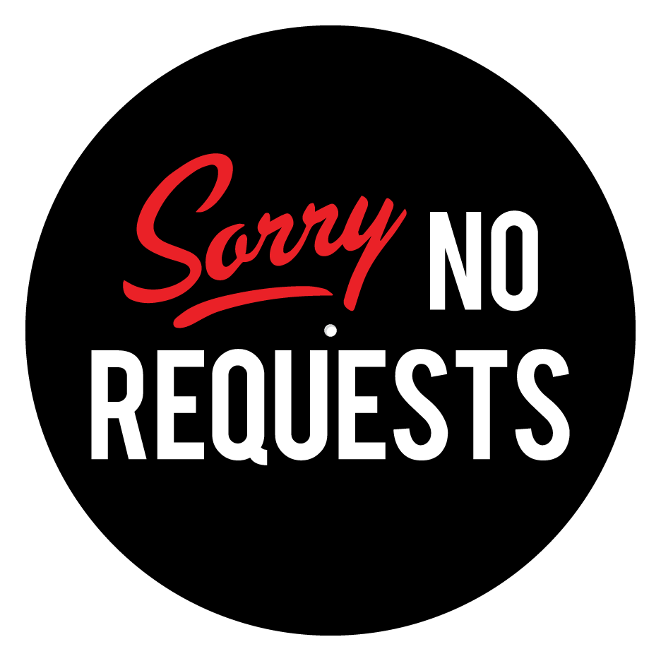 "Image of Sorry No Requests 12"" Slipmats (Pair)"