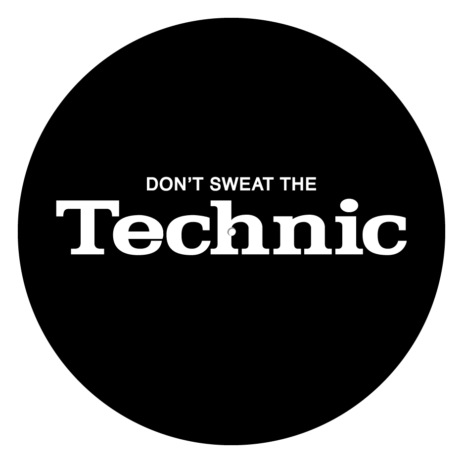 "Image of Don't Sweat The Technic 12"" Slipmats (Pair)"