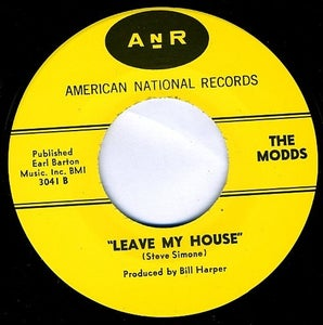 """Image of 7"""" The Modds : Leave My House +1"""