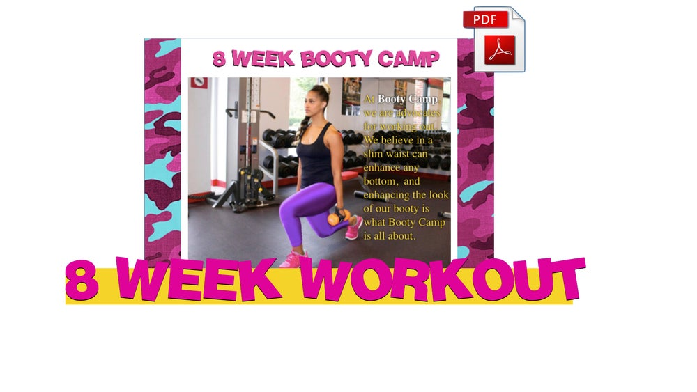"Image of 8 WEEK WORKOUT PROGRAM ""SUMMER BOOTY CAMP"""