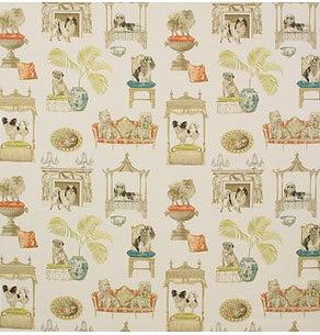Image of 1 yard Westminster Ivory Fabric