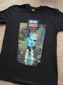 "Image of ""Law & Order:STFU"" Six-Color on Black T-Shirt"