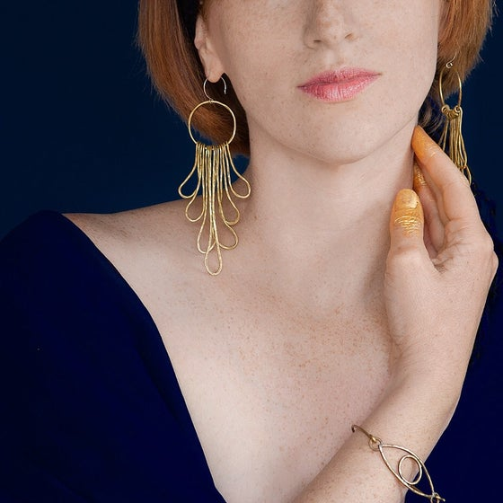 Image of Sunspot earrings IN STOCK