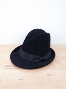 Image of Comme des Garcons Homme Plus - Stephen Jones Millinary Fedora Hat