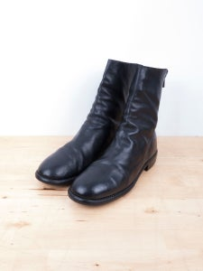 Image of Guidi - Donkey Leather 988 Backzip Boots