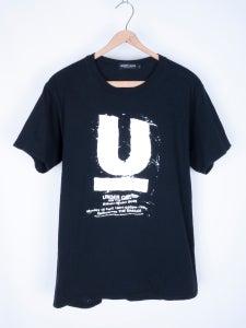 Image of Undercover - 1994-95 Giz Pattern U Logo Tee