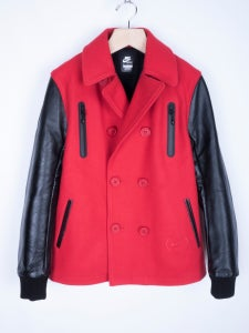 Image of Nike Sportswear - Product (RED) x NSW Melton Destroyer Pea Coat