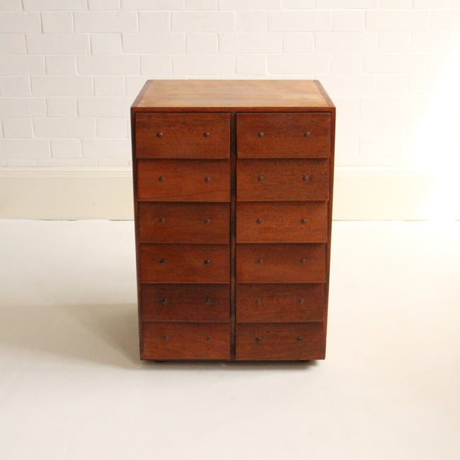 Image of Small mid-century chest