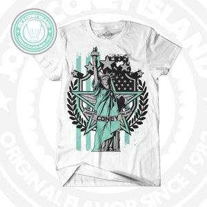 Image of JCI - Lady Liberty - white ( Jordan 10 )