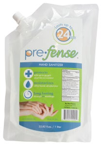 Image of Prefense Hand Sanitizer Dispenser Refill, Pouch, Scented