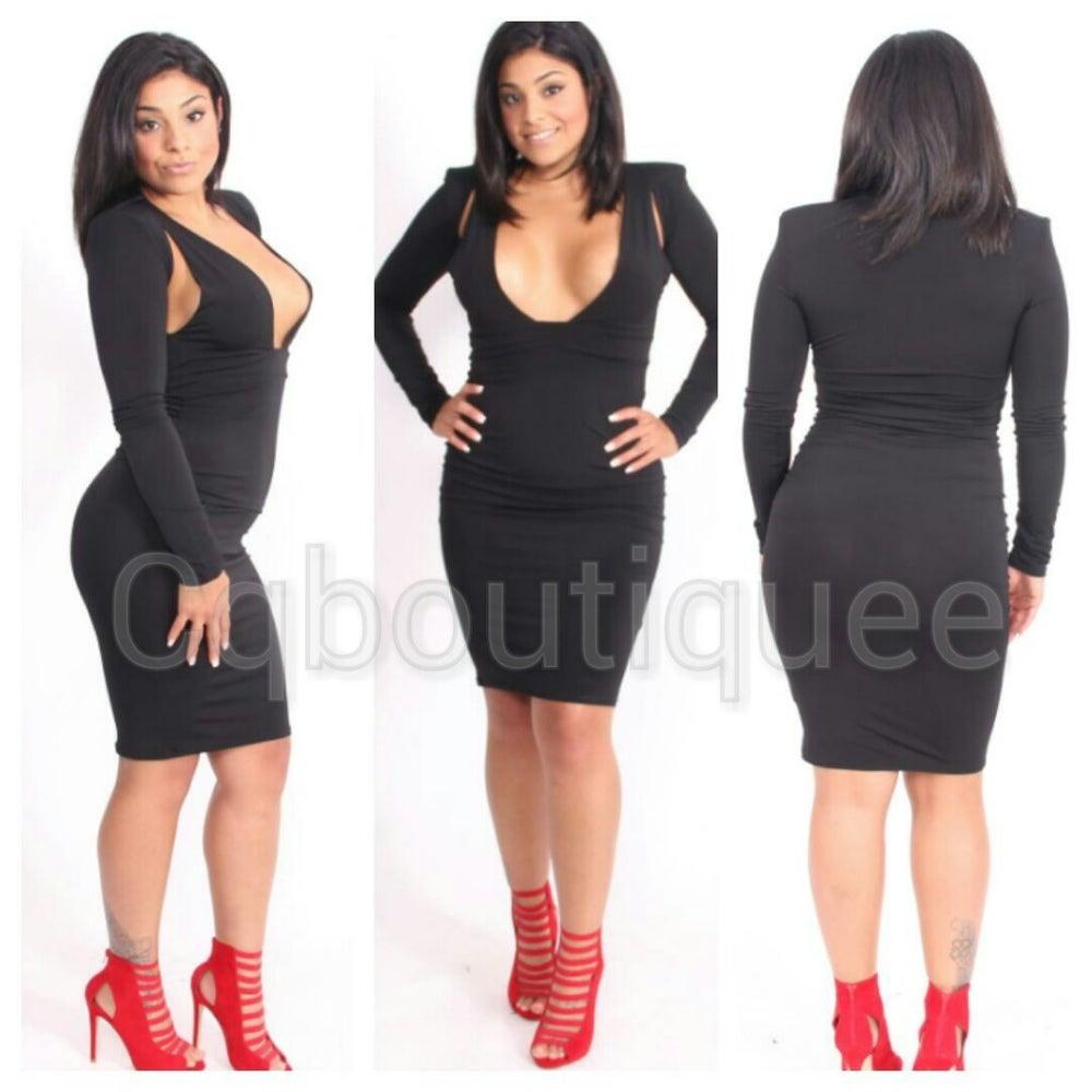 Image of surreal dress (black