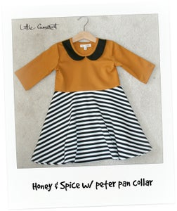 Image of Honey & Spice w/ Peter Pan Collar