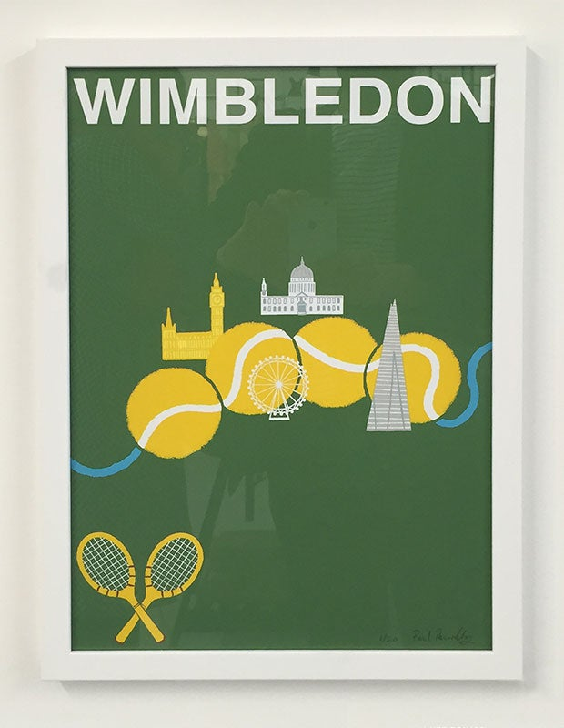 Image of A3 Wimbledon Screen Print