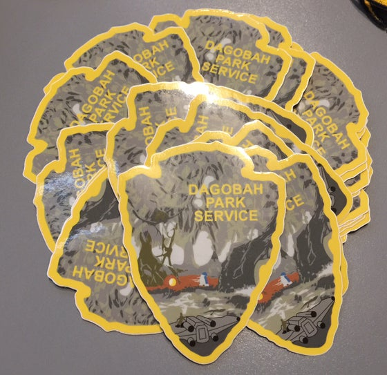 Image of Dagobah Park Service Series #4 Sticker