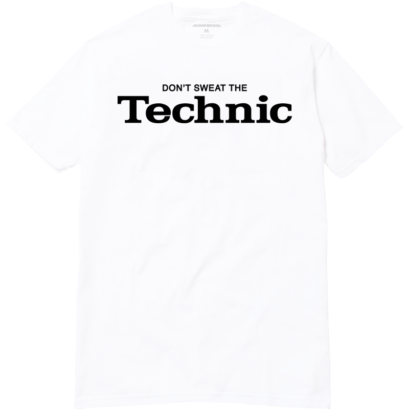 Image of Don't Sweat The Technic (White)
