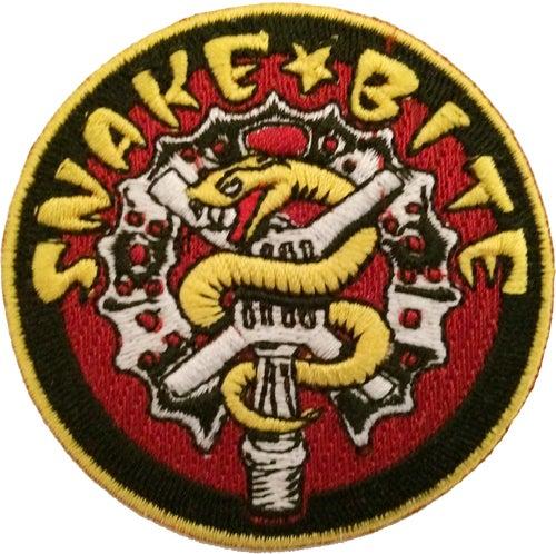 """Image of Snakebite BMX 2.5"""" Logo Patch"""
