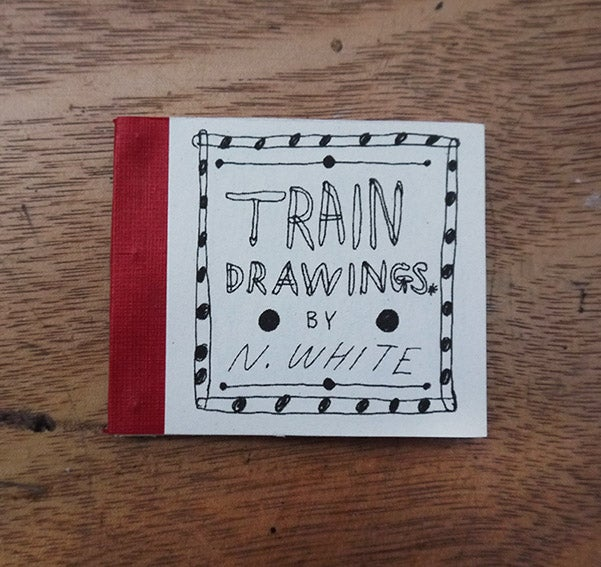Image of 'Train Drawings' comic / book - Second Edition.