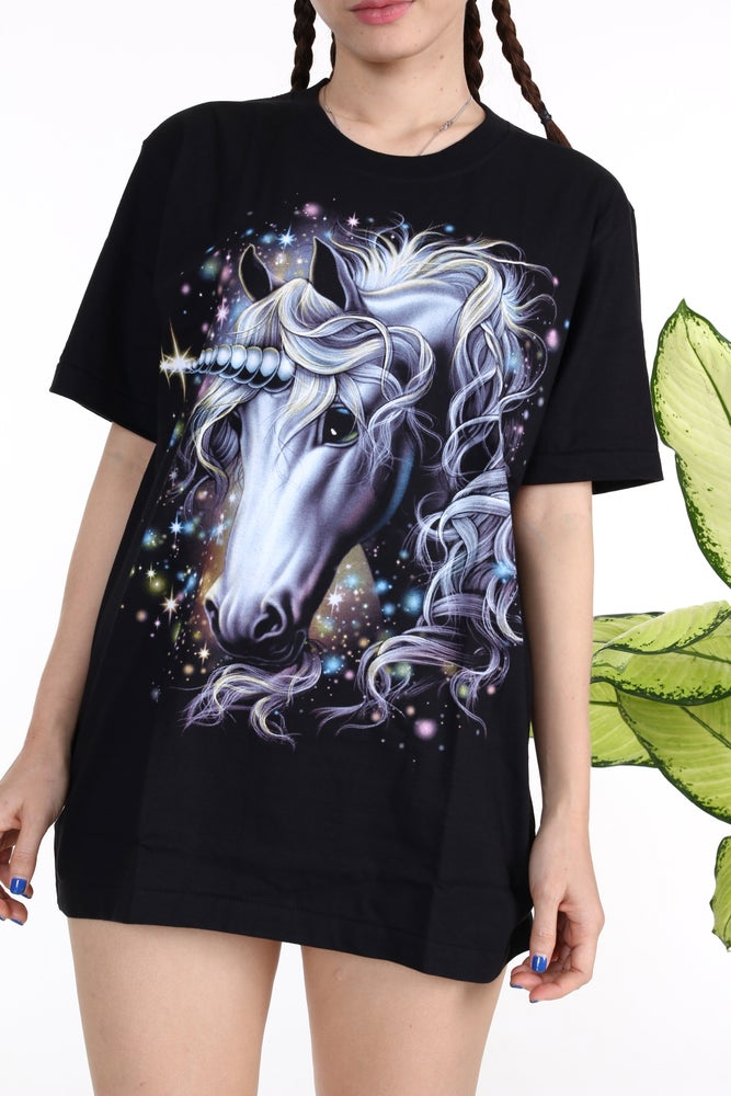 Image of Unicorn Tee in Black