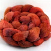 Image of Red Rock - Falkland Wool Top/Roving