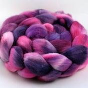 Image of Hibiscus - Polwarth Wool Top/Roving