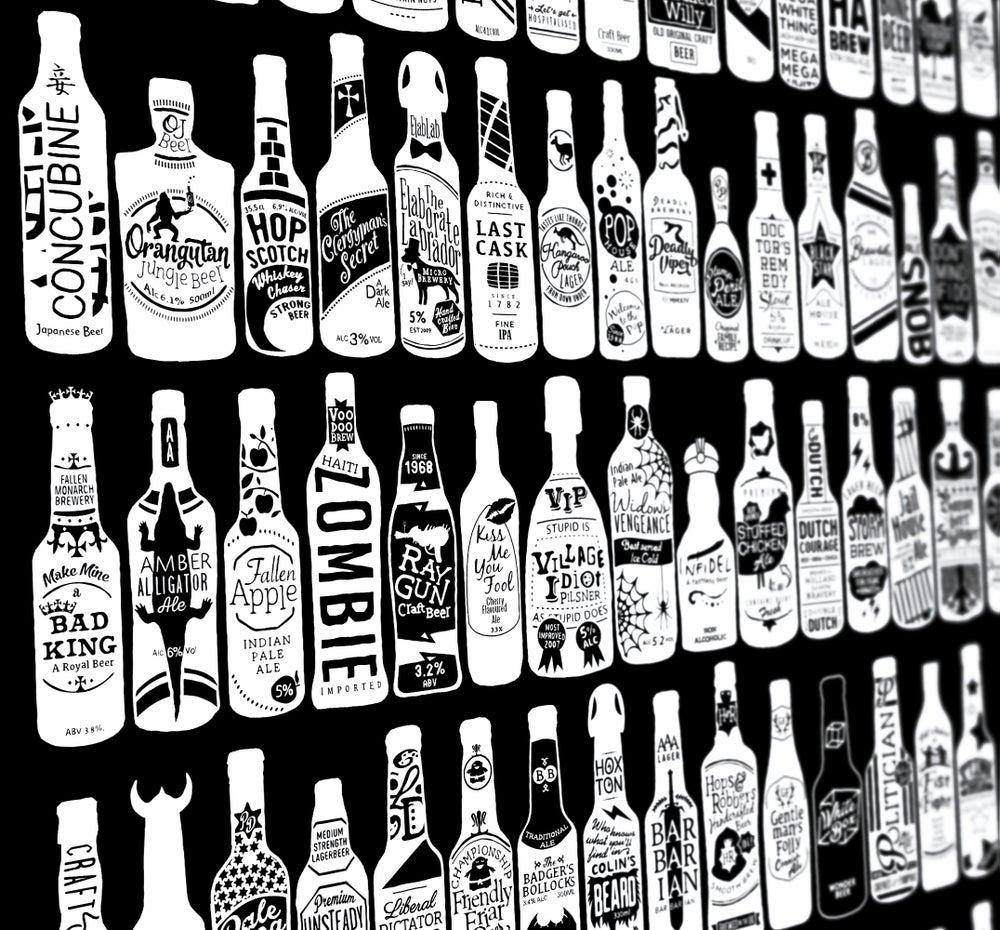 Image of 99 Bottles (Black, 2013)