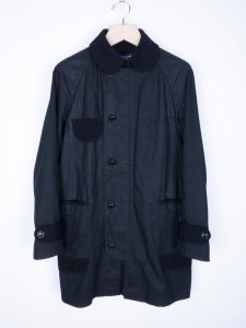 Image of Junya Watanabe MAN - FW13 Hervier Productions Coated Cotton Chore Coat