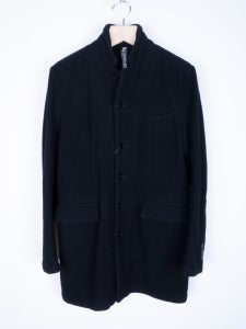 Image of Number (N)ine - FW07 Boiled Nubby Wool Chesterfield Coat