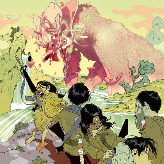 Image of Tomer Hanuka's 'The Beast' (Gallery Edition)